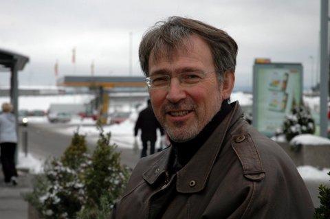 SKRIBENTEN: Kjell Ivar Berger, prosten i Drammen.