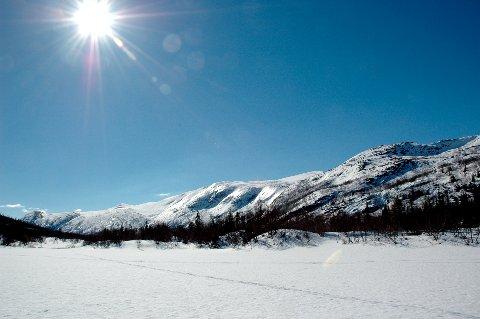 VINTERFERIE: Uke 9 er det vinterferie i Buskerud, og ifølge Meteorologisk Institutt blir ikke været så aller verst.