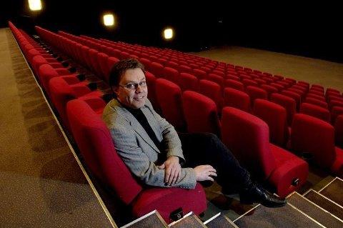 KINOSJEF: Steinar Johansen på Nordisk Film Kino Drammen