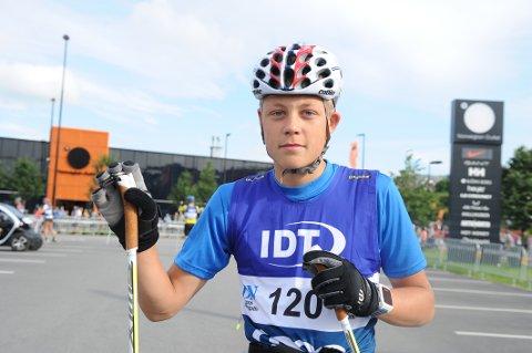 GÅR FORT: Jørgen Dyrdahl imponerer i Blink-festivalen i Sandnes om dagen. Han har hatt fin flyt så langt i det prestisjefylte arrangementet.