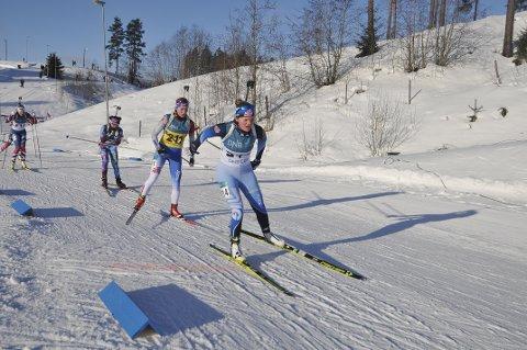 PÅ HJEMMEBANE: På hjemlige trakter leverte Sigrid Bredde Vig et godt løp.