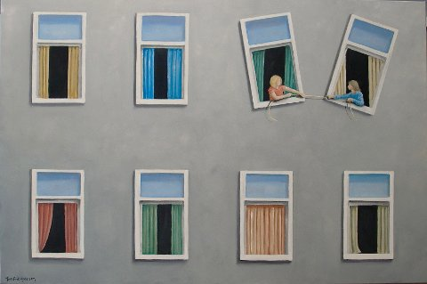 """Breaking the laws of nature"" av Tom Erik Andersen."