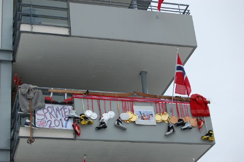 KONKURRANSE: Hvilken av balkongene er finest? Dette er en av finalistene.
