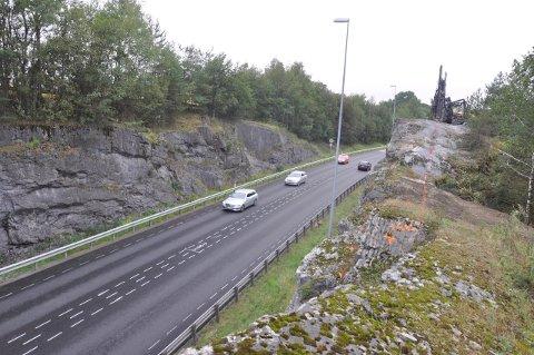 Dette er grunnen til at E134 blir stengt mellom Steinberg og Hokksund i helgen.