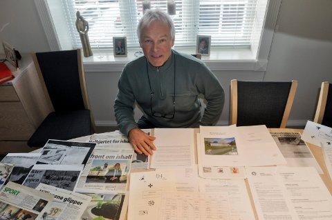JOBBER FOR ISHALL: Tom-Arne Winnæss har jobbet for en ishall i Drammen i årrekke. Han gir seg aldri.