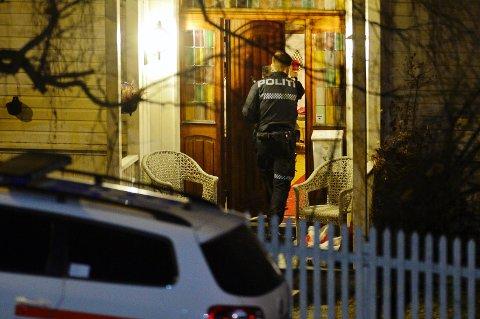 INNBRUDD: Det ble meldt om to innbrudd i Drammen i natt. Det ene i 2. Strøm Terrasse, der en mann ble sett inne på et soverom.