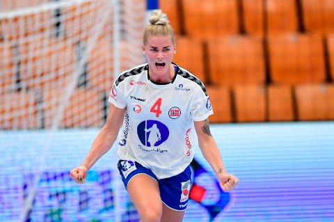 I EM: Veronica Kristiansen er klar for nok et mesterskap for Norge i håndball.