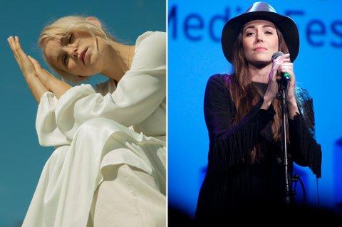 Eva Weel Skram og Marion Ravn er to av artistene som etter planen skal opptre i Drammen de første månedene av 2021.