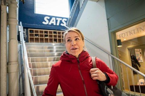 Elena Elufimova var hverken skuffet eller overrasket over at Sats på CC-senteret måtte stenge. Hun rakk en siste økt før dørene ble låst.