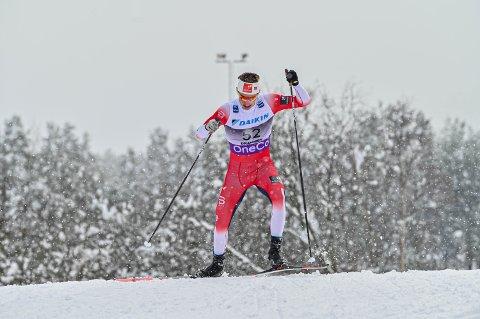 NM-vinner Ansgar Evensen røk overraskende ut i prologen.