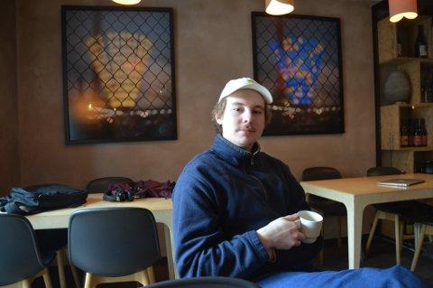 UNG KJØKKENSJEF: Petter Rolund Antonsen fra Åssiden ble kjøkkensjef på Smalhans i Oslo 1 . januar. Restauranten har en utmerkelse i den anerkjente Michelin-guiden.