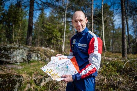 REKORD: Trond Cato Martinsen, leder for turorienteringen i Konnerud IL, kan fortelle om rekordhøy interesse for turorientering denne våren.