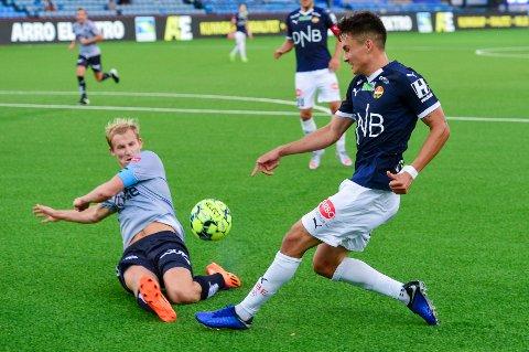 Strømsgodset - Viking. 0-2. Marienlyst stadion. Drammen. Nico Mickelson