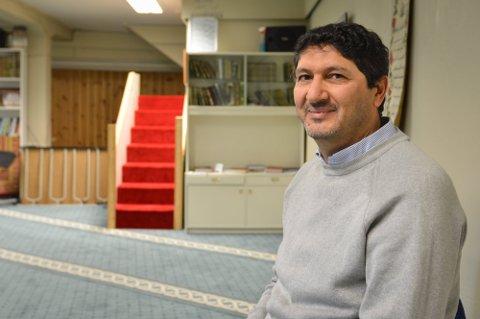 LEDER: Oussama Tlili er styreleder i Kongsberg Islamsk Kultursenter.