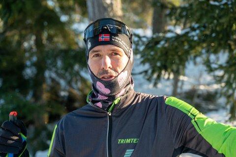 TRENER MYE: Jan Kristian Haugnæss er blant de få som får gå den litt spesielle utgaven av Vasaloppet til vinteren.