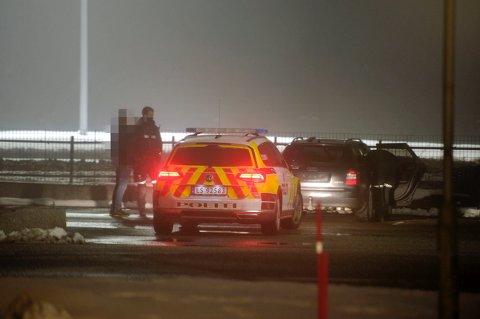 BIlføreren som ble stoppet i Tomtegata hadde pepperspray i bilen. Den ble avskiltet på grunn av manglende forsikring.