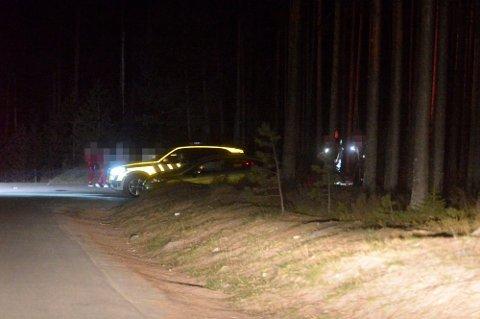 Politiet rykket ut til en stor fest ute på Årbogen natt til 1. mai der 150 ungdommer var samlet.