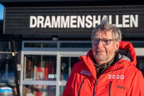 FRUSTRERT: Dette berører 1500 barn og unge som til vanlig er faste brukere av Drammenshallen, sier Per Burud, styreleder i Drammen Idrettsråd.