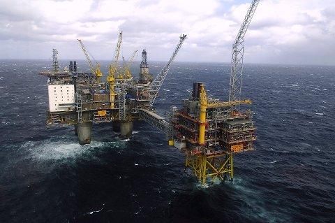 Flere felter i Nordsjøen, blant annet deler av Oseberg, sto i fare for å bli stengt dersom ikke det var kommet til enighet i forhandlingene mellom Lederne og Norsk olje og gass. Foto: Helge Hansen/NTB scanpix