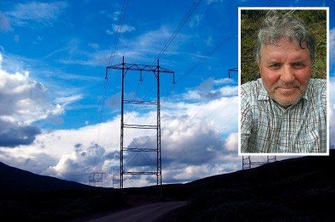 FORNØYD: Johan Fredrik Bjerknes har bodd i Hakavikveien hele livet har endelig fått fiber. Det har også naboene hans. Det skjedde i grevens tid.