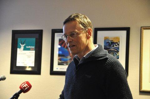 BLIR POLITISK AVGJØRELSE: Prosjektdirektør for Johan Castberg-prosjektet i Equinor, Knut Gjertsen, sier at stortingspolitikerne avgjør hva som skal skje på Veidnes og i Sarnesfjorden i begynnelsen av 2019.