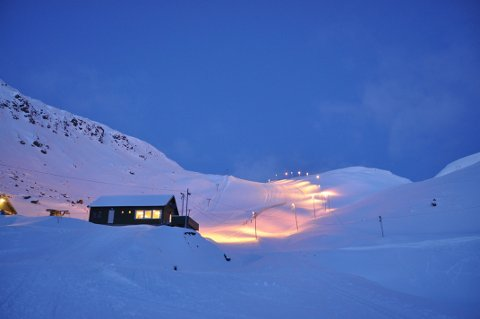 Alpinbakken i Nordvågen.