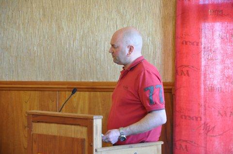 VILLE HA DEBATT: Hugo Salamonsen ville har områdeplanen for Nordkapphalvøya på sakslisten til kommunestyremøtet, men det fikk han ikke.