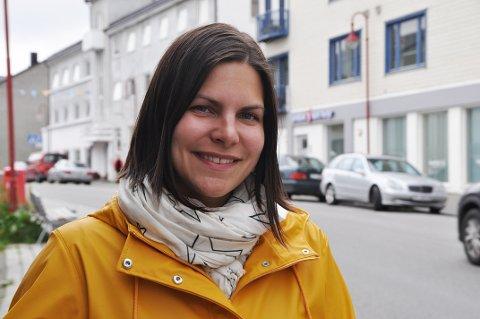 MINISYKKELRITT: Nadia Leinan i Nordvågen idrettslag håper flest mulig deltar på sykkelrittet for de minste på lørdag.