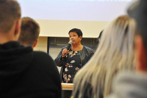 STOLT: Rektor på Nordkapp videregående skole, Eli Skille, er stolt over arbeidet som er lagt ned av alle ansatte på skolen.