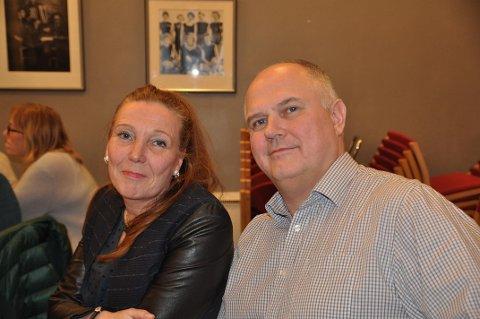 TOPPKANDIDATENE: Kari Lene Olsen og Kjell Valter Sivertsen er valgt som henholdsvis første- og andrekandidat for Nordkapp Arbeiderpartis liste til årets kommunevalg.