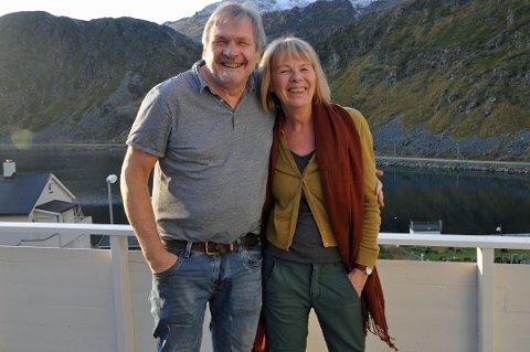 FLYTTER SØROVER: Etter 39 år i Nordvågen flytter Tone og Dan til Horten for å begynne et nytt kapittel  i livet deres sammen med nær familie.