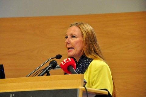 Kari Lene Olsen, gruppeleder i Nordkapp Arbeiderparti.