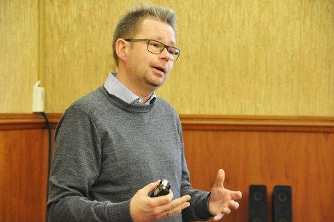 Raymond Robertsen, statsekretær i kunnskaps og moderniseringsdepartementet.