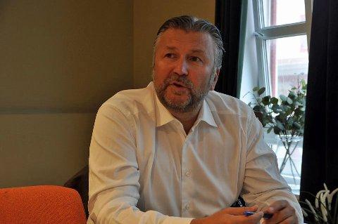 Svein Arild Steen-Mevold er sjef for Scandic Hotels Norge.
