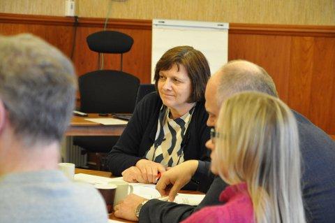 GREIT: Ordfører Kristina Hansen syns det er helt legitimt at rådmannen spør om kommunestyret virkelig vil ha denne mulighetsstudien.