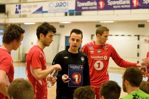 Hovedtrener for HT&IF, Andreas Børvik