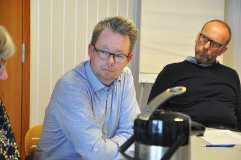 Rådmann i Nordkapp kommune Raymond Robertsen.