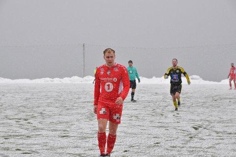 Turn-spiller nummer 11, Odd Bjørnar Nilsen, sier han er lagspiller og målscorer.