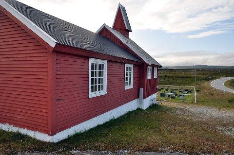 Dårlig vedlikeholdt: Kirken på Repvåg trenger vedlikehold.
