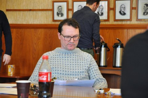 IKKE IMPONERT: Jan Olsen fra SV så ikke poenget med møtet 6. september.