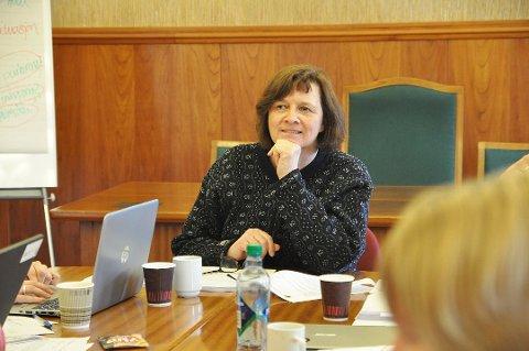 UENIG: Ordfører Kristina Hansen (Ap) deler ikke Jan Olsen sitt syn om valgstyremøtet.