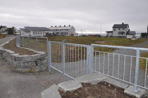 Den nye delen av kirkegården i Honningsvåg. Arkivfoto