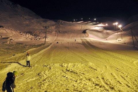 NORDVÅGEN: Det skal være fine forhold i alpinbakken. På Onsdag kan man kose seg i dagslys og.