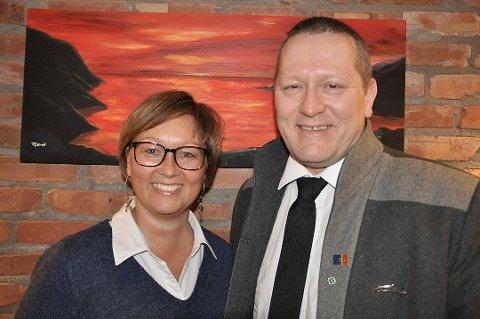 Heidi Holmgren og Tor Mikkola i Nordkapp SP.