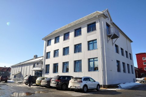 Rådhuset i Nordkapp kommune.