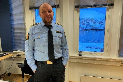 FORANDRING FRYDER: Runar Elde er klar for å gå av som politi, og han ser veldig frem til å begynne med noe nytt.