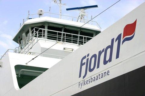 INNOVATIVE: Fjord1 viser seg som eit av dei mest innovative selskapa på miljøvennleg framdrift.