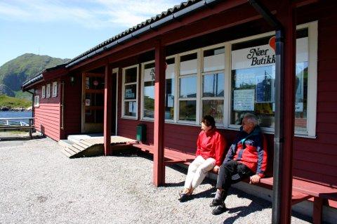 Nærbutikken i Rognaldsvåg på Reksta er ein av butikkane som har nytt godt av Merkur-programmet.