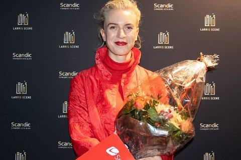 Thea Hjelmeland vann Luttprisen for andre gong (sist i 2014).