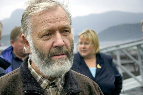 Inge Vassbotten er gründer for Steinvik Fiskefarm og har drive med settefiskproduksjon i ein mannsalder.